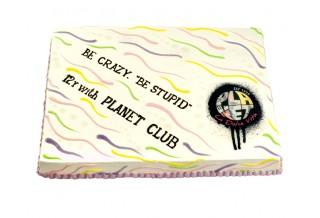 Фирмена торта Planet Club
