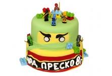 Бутикова торта Лего Нинджаго