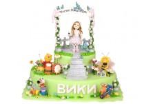 Бутикова детска торта Любими герои