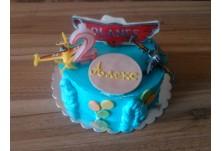 Детска торта Самолети и плодова торта Милена за Алекс, 2 г.