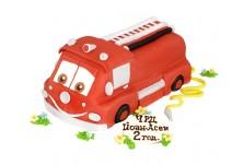 Бутикова торта Пожарна кола