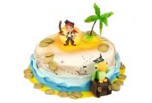 Бутикова торта Джейк и пиратите от Невърленд