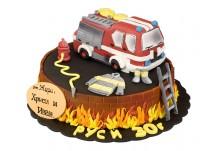 Бутикова торта Пожарна